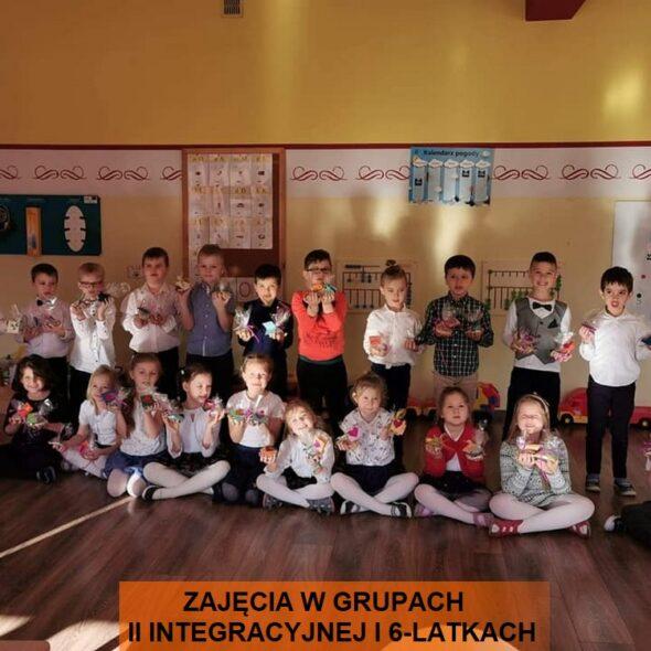Zajęcia w grupie II integracyjnej i 6-latków