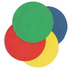 Okrągłe kolorowe kartoniki do ćwiczeń