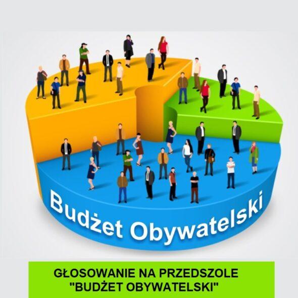"""Głosowanie na przedszkole """"Budżet Obywatelski"""""""